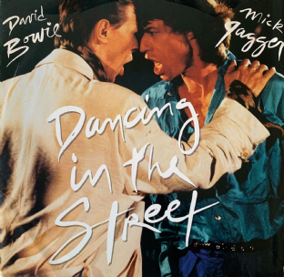 "David Bowie And Mick Jagger ‎- Dancing In The Street (12"") (G++/G++)"